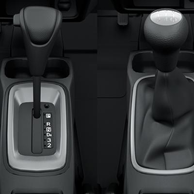 TRANSMISIONES DE 4AT Y 5MT   Transmisión automática de 4 velocidades y mecánica de 5 velocidades.