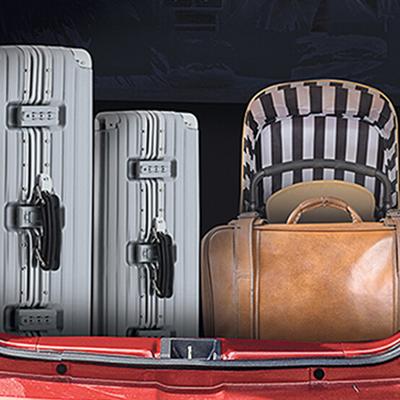 Maletera espaciosa de 260L.   Maletera espaciosa de 260L para llevar todo lo que necesites y viajes sin preocupaciones.