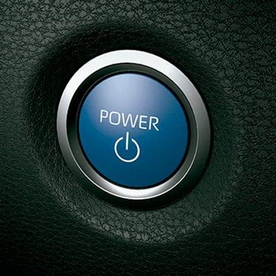 ENCENDIDO POR BOTÓN   Empieza tus viajes rápidamente con sólo apretar un botón.