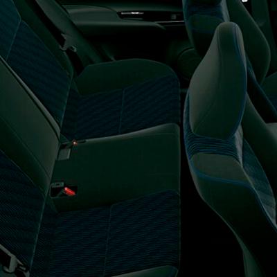 Confort Interior   Todos viajarán cómodos gracias a sus asientos ergonómicos, y a la distancia entre sus filas, optimizada para disfrutar de su amplitud interior.