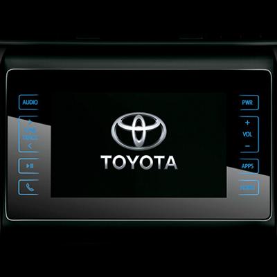 """Sistema de Audio   Centrado en una pantalla táctil de 8"""" (con funciones AM/FM, USB, AUX y Bluetooth), cuenta con un sonido claro y envolvente que puede ajustarse desde el volante."""