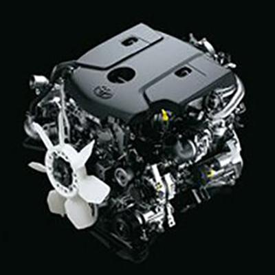 Motor   Nuevos motores de última tecnología, disponibles en 1GD (2.8 litros y 174.3 hp) y 2TR (2.7 litros y 163.6 hp).