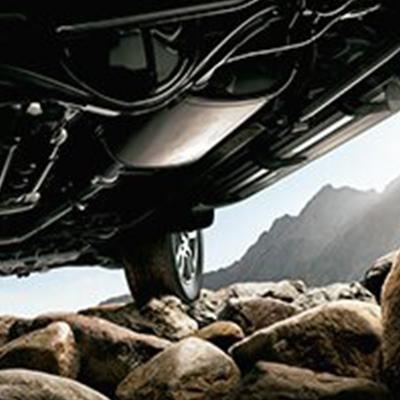 Selector Multiterreno   Acomoda tu experiencia girando un dial. Elige la performance según el terreno en que te encuentres: roca, piedra suelta, lodo, arena y nieve. (En versión VX).