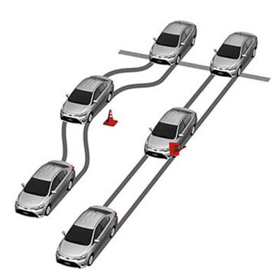 Frenos ABS   Sus frenos antibloqueo, con distribución electrónica de la fuerza, actúan en frenadas violentas, evitando las patinadas y la pérdida de control del auto.