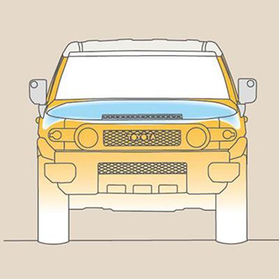 Protección al peatón   La estructura de la carrocería absorbe y mitiga impactos en la cabeza, las piernas y la cadera de un transeúnte, en caso de una colisión peatonal.