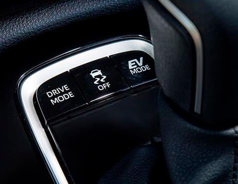 4 MODOS DE MANEJO Normal, EV, ECO y Sport, para brindarte una mejor experiencia de manejor.